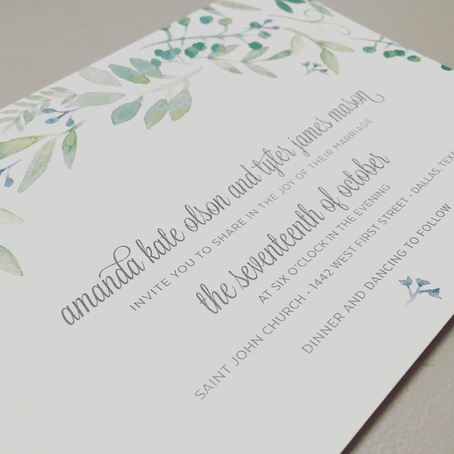 Wedding Invitation Free Sample In Love Am Loved Studios by