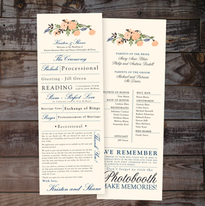 wedding programs, programs, wedding, invitations, wedding invitations, wedding invites, formal, calligraphy, vintage, script